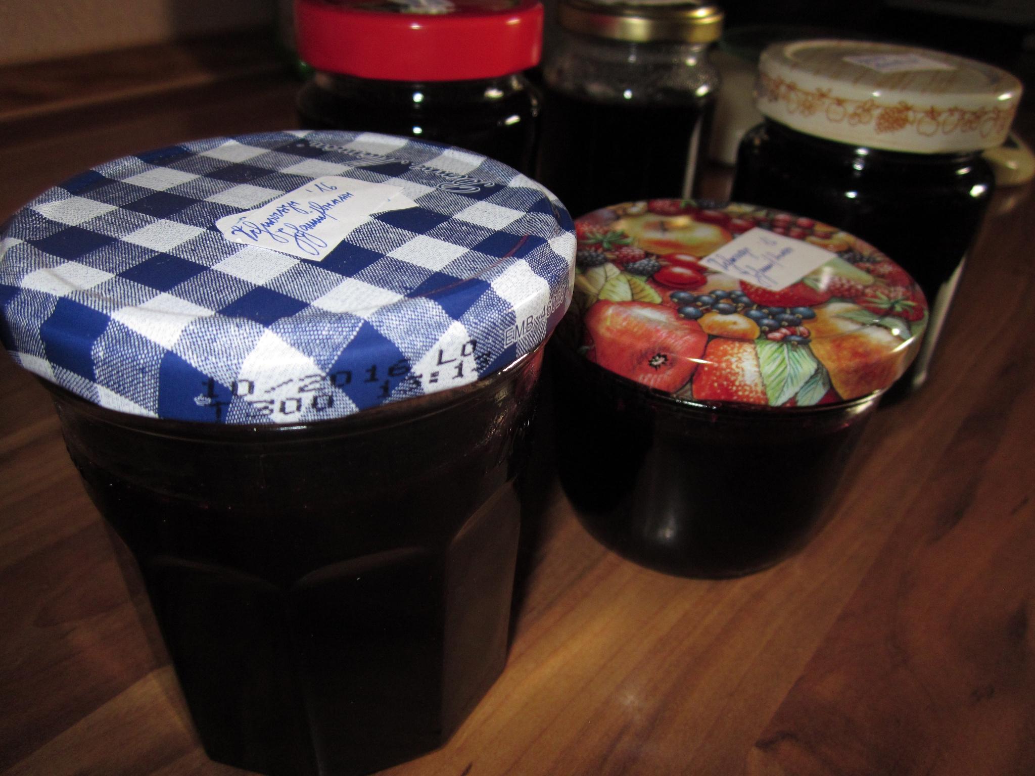 Schwarze Johannisbeeren-Marmelade