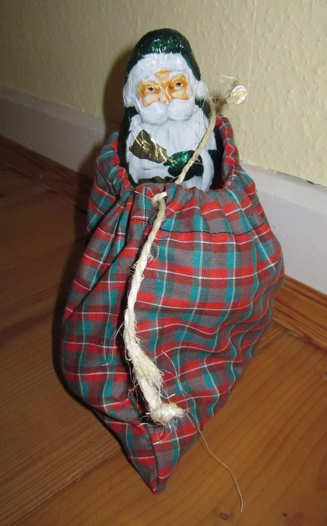 Das ruckzuck genähte Nikolaussäckchen!